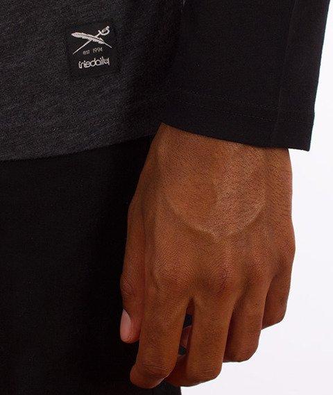 Iriedaily-Rugged Longsleeve Black Anthra