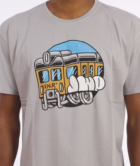 JWP-FNR Train T-shirt Szary