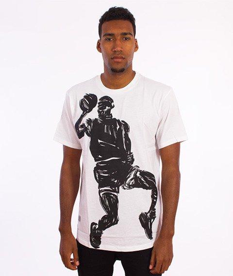 K1X-Paintbrush T-Shirt Biały