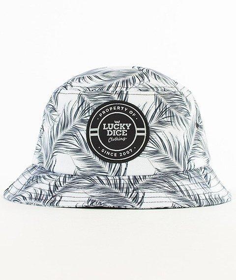 Lucky Dice-Black Leaves Summer Bucket Hat Multikolor