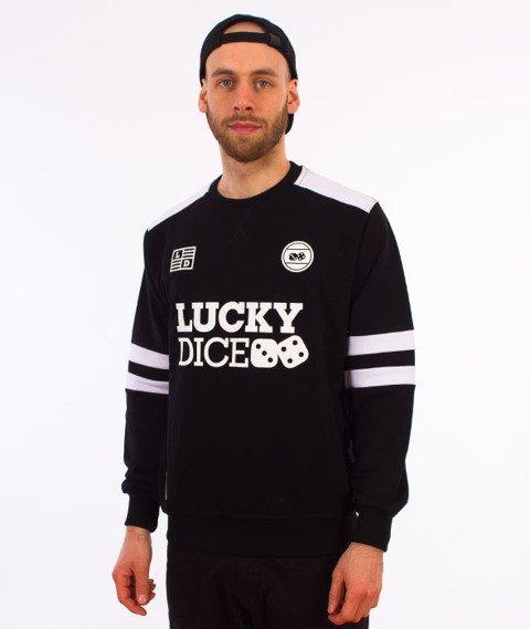Lucky Dice-College Crewneck Bluza Czarna