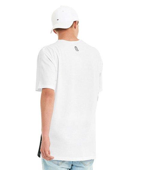 Lucky Dice-Cut Colour T-shirt Biały/Szary/Czarny