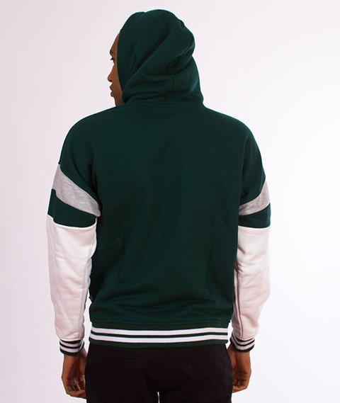 Lucky Dice-Hoodie Logo Colour Bluza Zielona