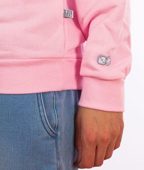 Lucky Dice-Logo Bluza Damska Pink