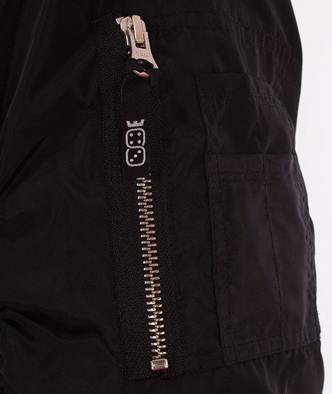 Lucky Dice-Logo Bomber Jacket Kurtka Czarna
