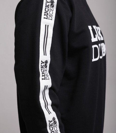 Lucky Dice Logo Tape Bluza bez kaptura Czarny