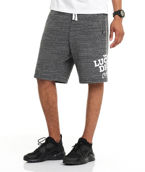 Lucky Dice-SHT Slant Krótkie Spodnie Grafitowe