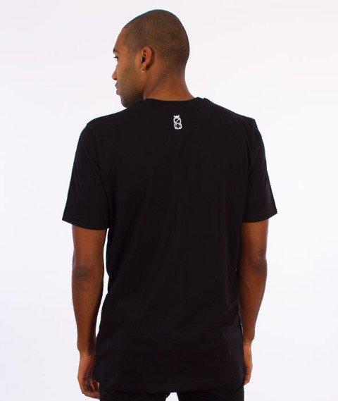 Lucky Dice-Tape LD T-shirt Czarny