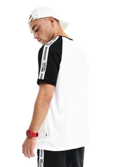 Lucky Dice-Tape T-shirt Biały/Czarny