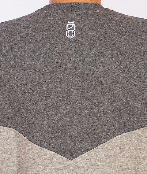 Lucky Dice-Triangle Bluza Grafitowa/Szara