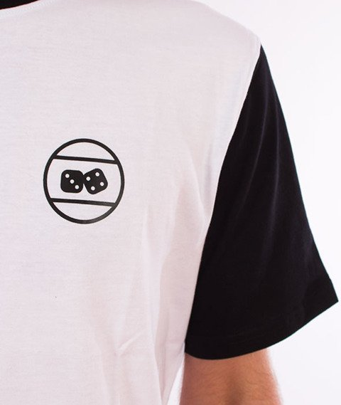 Lucky Dice-Triangle T-shirt Biały