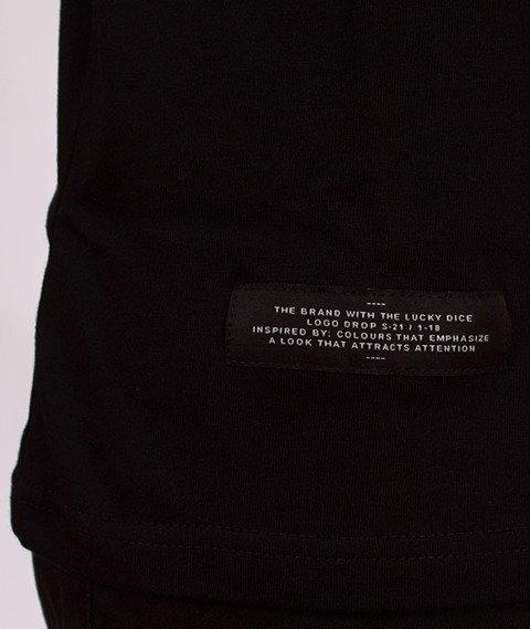 Lucky Dice-VHS T-shirt Czarny