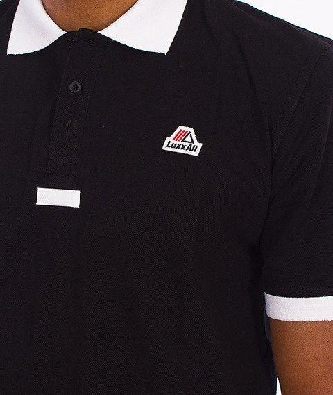 LuxxAll-Polo T-Shirt Czarny
