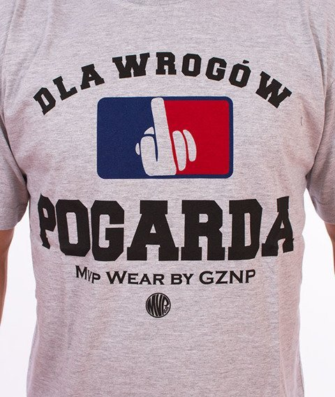 MVP Wear-Pogarda T-shirt Szary