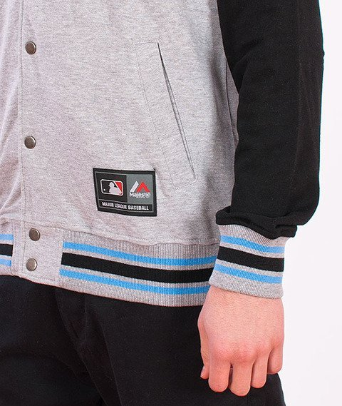 Majestic-Brooklyn Dodgers Auld Hooded Fleece Grey/Black