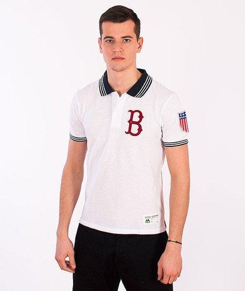 Majestic-Brooklyn Dodgers T-shirt White