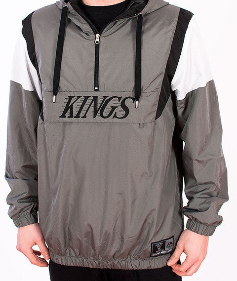 Majestic-LA KINGS Grover OTH Jacket Grey