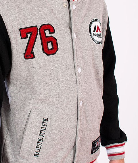Majestic-Majestic Athletic Baseball Grey/White