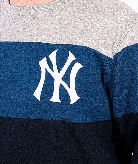 Majestic-New York Yankees Crewneck Navy/Blue/Grey