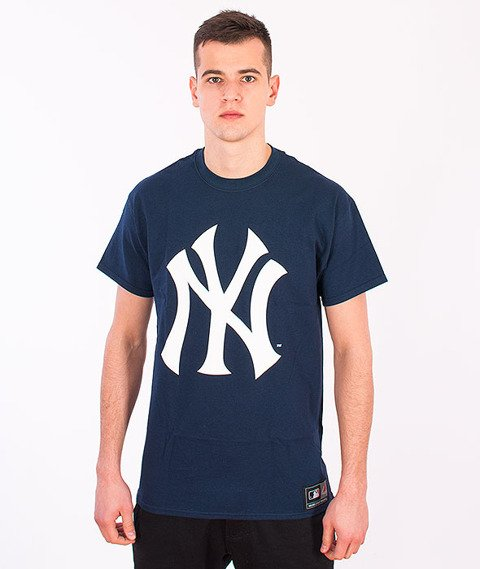 Majestic-New York Yankees Prism T-shirt Navy