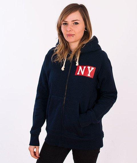 Majestic-New York Yankees Zip Hoodie Navy