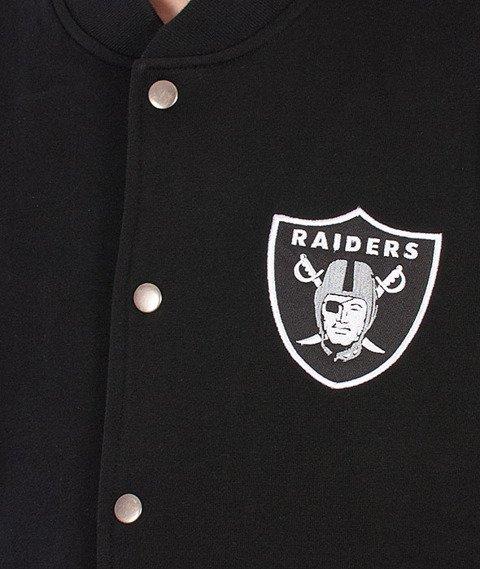 Majestic-Oakland Raiders Roper Fleece Letterman Black