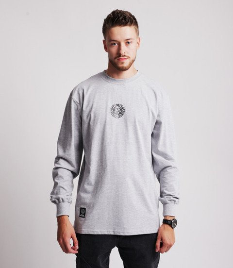 Mass BASE SMALL LOGO Longsleeve Szary