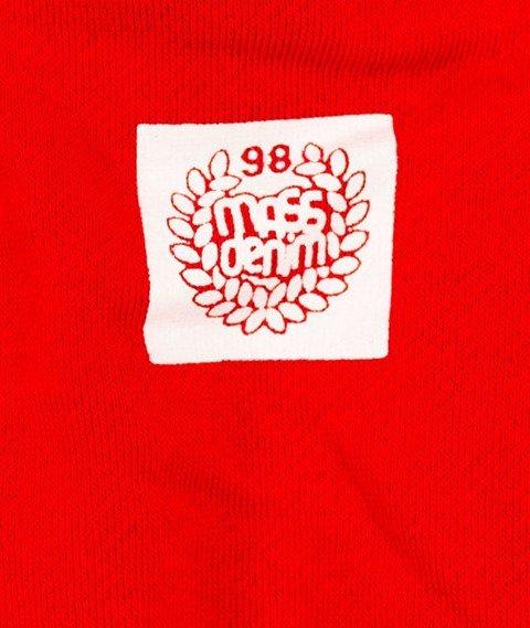 Mass-Base Bluza Kaptur Red