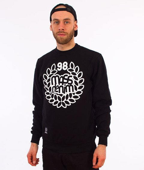 Mass-Base Crewneck Bluza Czarna