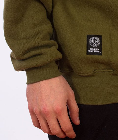 Mass-Base Crewneck Bluza Khaki