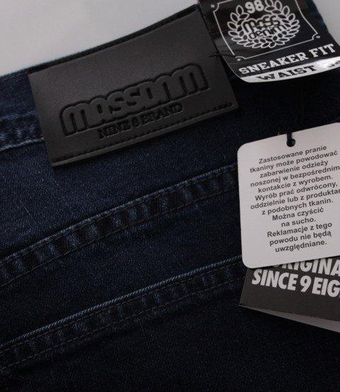 Mass-Base Jogger Jeans Spodnie Dark Blue
