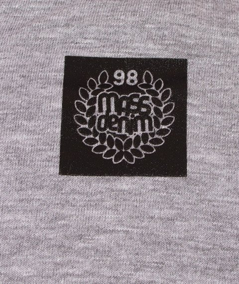 Mass-Base Raglan Longsleeve Grey Heather/Black