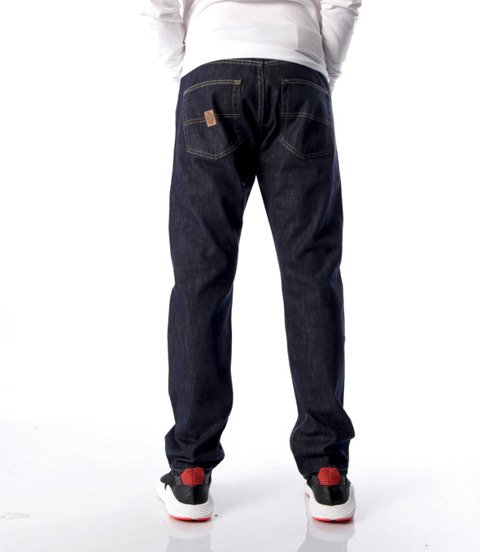 Mass-Base Regular Fit Jeans Rinse Blue