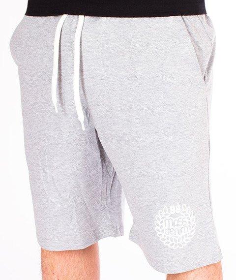 Mass-Base Spodnie Dresowe Krótkie Light Heather Grey