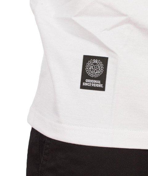 Mass-Base T-Shirt Biały/Szary
