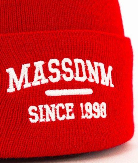 Mass-Campus Beanie Czapka Zimowa Czerwona