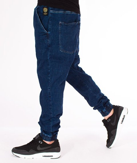 Mass-Campus Jogger Spodnie Dark Blue