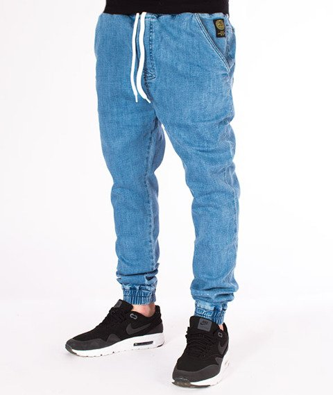 Mass-Campus Jogger Spodnie Light Blue