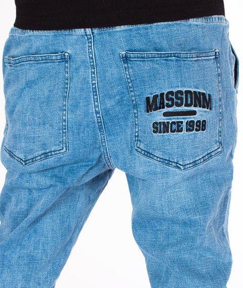 Mass-Campus Jogger Spodnie Light Blue