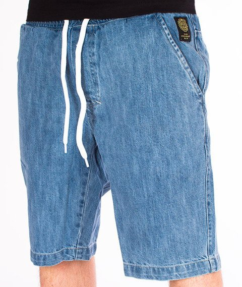 Mass-Campus Shorts Jeans Straight Fit Light