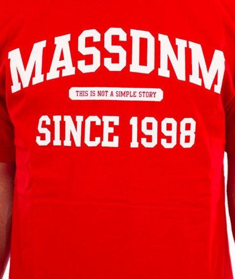 Mass-Campus T-Shirt Red