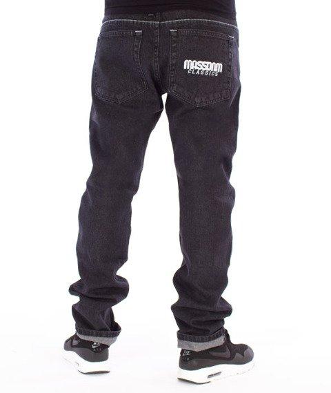 Mass-Classics Straight Fit Jeans Black Rinse