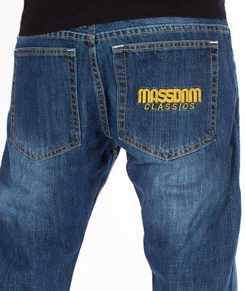 Mass-Classics Straight Fit Jeans Dark Blue