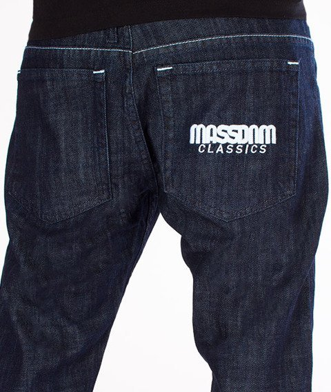 Mass-Classics Straight Fit Jeans Rinse Blue