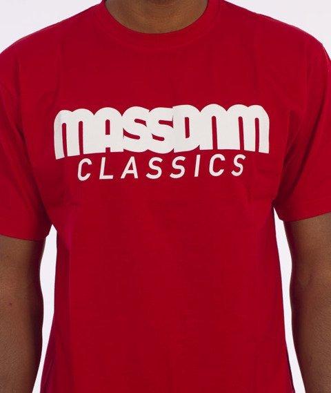 Mass-Classics T-Shirt Czerwony