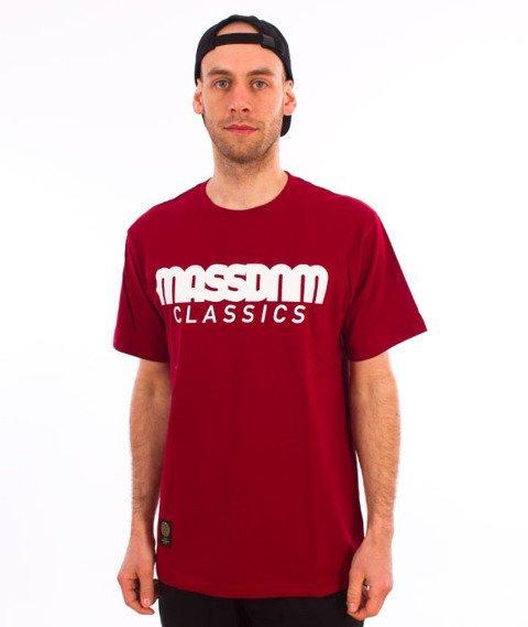 Mass-Classics T-shirt Claret