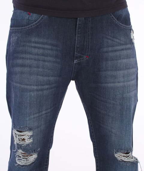Mass-Conversion Tapered Fit Jeans Blue