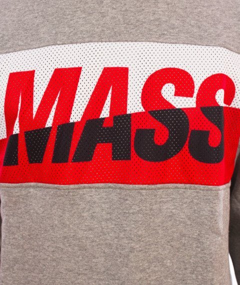 Mass-Curing Cut Crewneck Bluza Grey