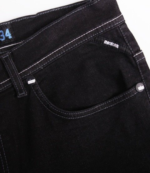 Mass DOPE Jeans Tapered Fit Black Rinse