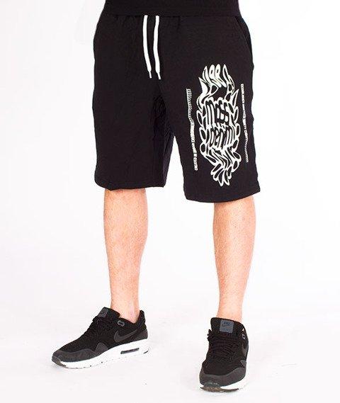 Mass-Disruption Spodnie Dresowe Krótkie Black